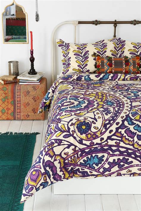 bedding urban outfitters magical thinking paisley sketchbook duvet cover urban