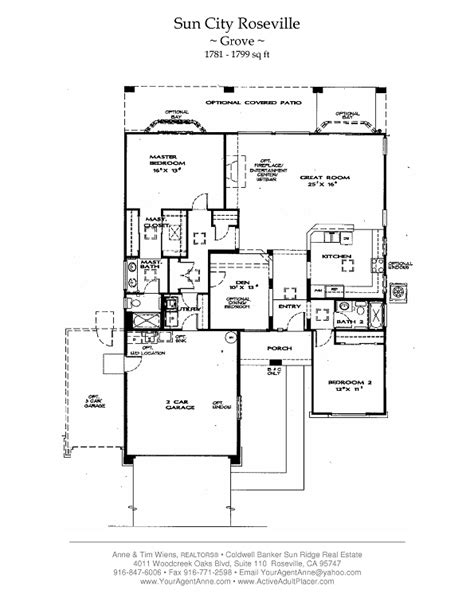 sun city floor plans sun city roseville homes plans house design plans