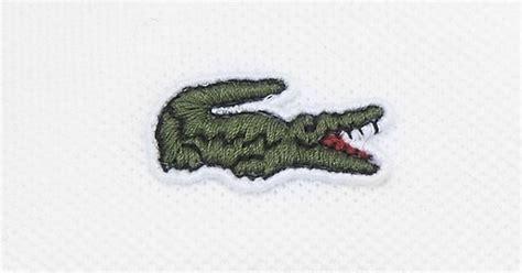 Lacoste Crocodile lacoste replaces iconic crocodile logo with endangered