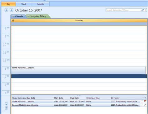 Calendar Spreadsheet Sync How Do I Sync Sharepoint Lists With Outlook 2007
