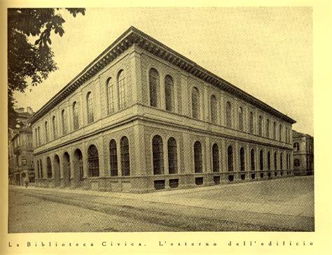 biblioteca d italia biblioteca comunale di torino la prima vera biblioteca