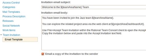 Downloads Ibm Rational Team Concert Jazz Net Community Site Team Email Template
