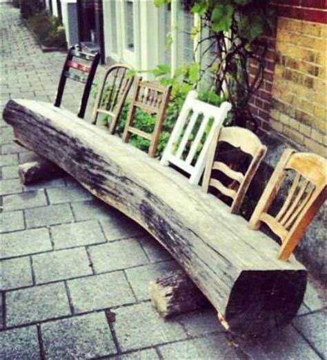 Tree Stump Bench Ideas 29 Super Cool Diy Reclaimed Wood Projects For Your