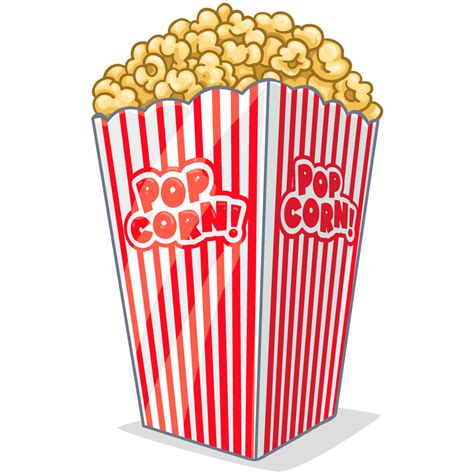 popcorn clipart free popcorn clipart transparent background pencil and in