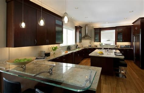 kitchen counter lighting ideas simple ideas to change your kitchen with glass
