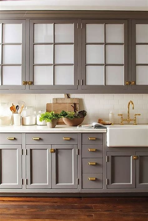 Gray Kitchen Cabinets Kitchen Design Inspiration My Warehouse Home
