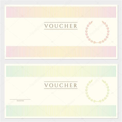 voucher html template image gallery money voucher
