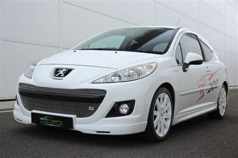 white peugeot for sale used white peugeot 207 for sale south glamorgan
