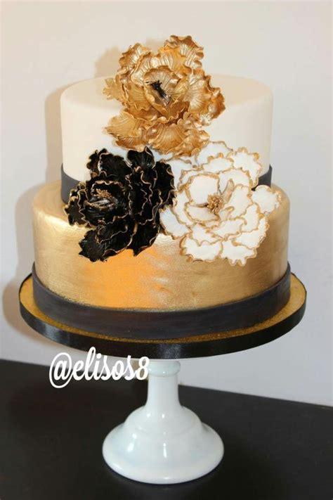 Black Gold Cake Cake By Elisos Cakesde R