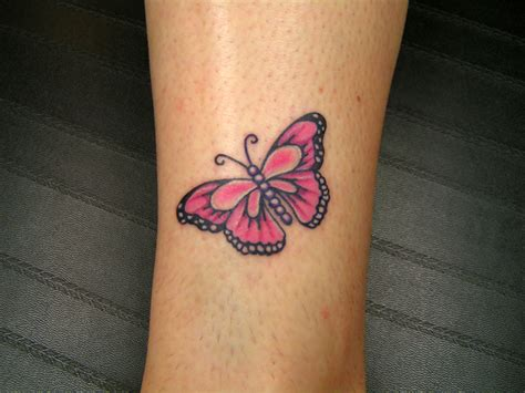 small butterfly tattoo picture