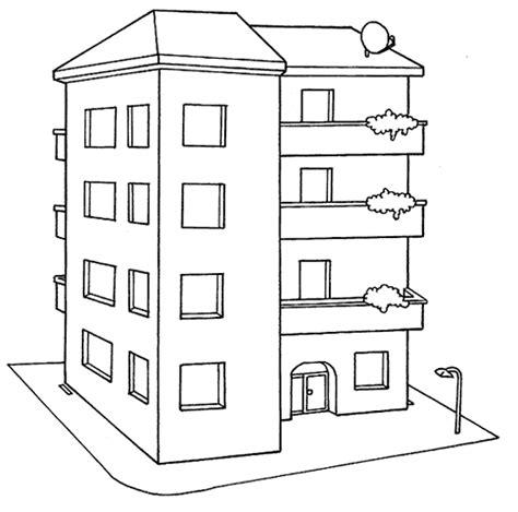 imagenes de viviendas urbanas para colorear dibujos de edificios f 225 ciles para colorear colorear im 225 genes