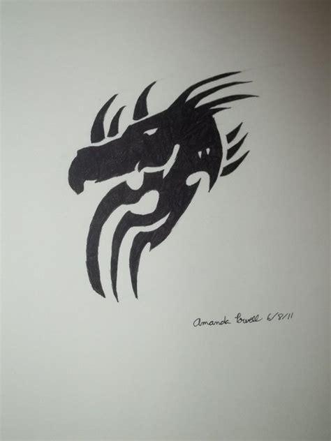 tattoo simple dragon dragon simple tattoo by emocookie41 on deviantart