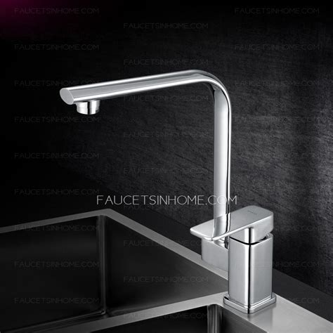 Modern Square Kitchen Faucets by Modern Square Shaped Single Handle Kitchen Faucets