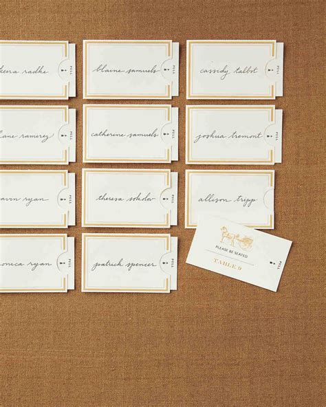 card template martha stewart seating and table card clip and templates martha