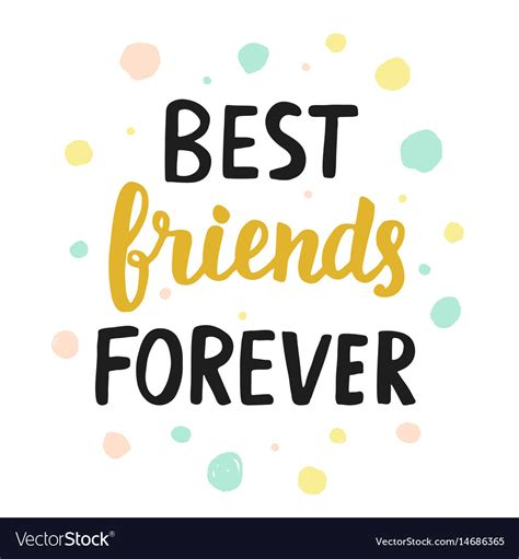 best free vector best friends forever royalty free vector image