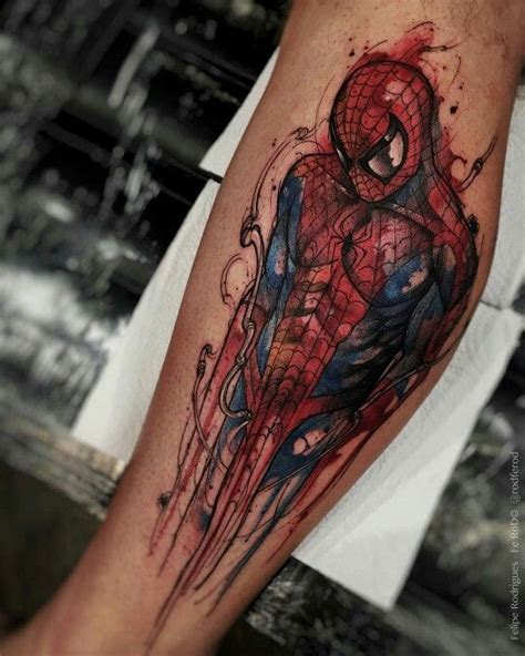 spiderman tattoos best 25 ideas on marvel
