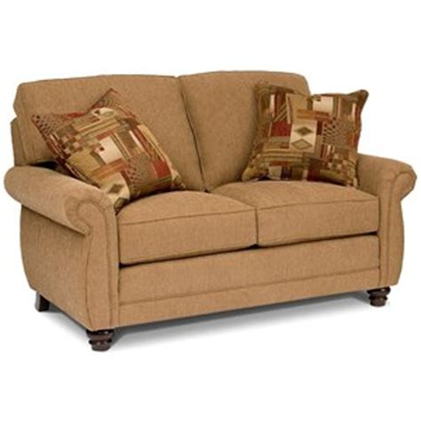 high back settee with arms lancer homespun high wing back settee with rolled arms