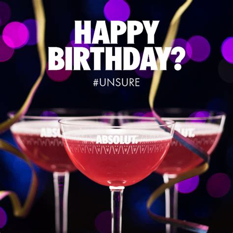 birthday martini gif birthday let s grab a drink gif by absolut vodka