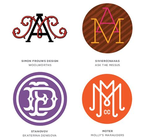 design inspiration monogram 2013 best logo designs trends inspiration showcase