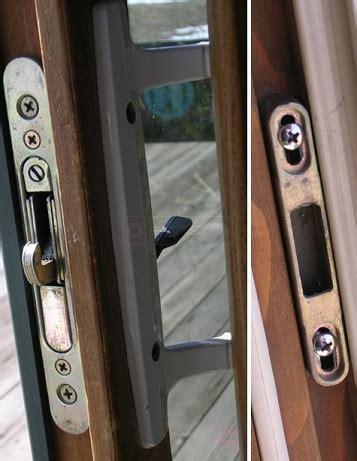 sliding door parts faceplate repair marvin sliding patio door hardware mortise lock
