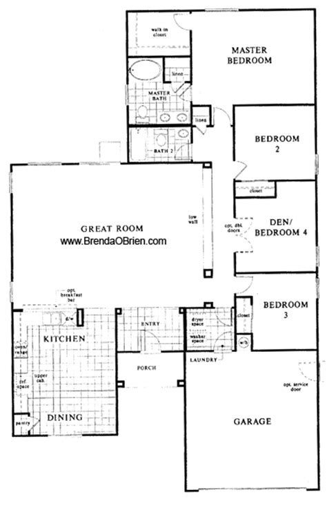 kb floor plans black horse ranch floor plan kb home model 2045