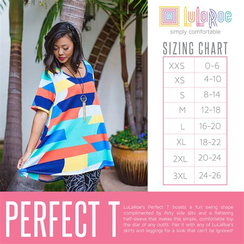 perfect slits lularoe perfect t sizing chart flowy top with side slits