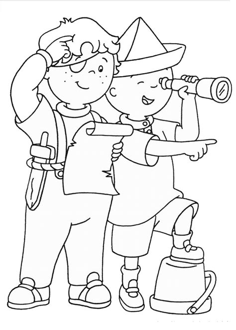 best color for kids caillou coloring pages best coloring pages for kids
