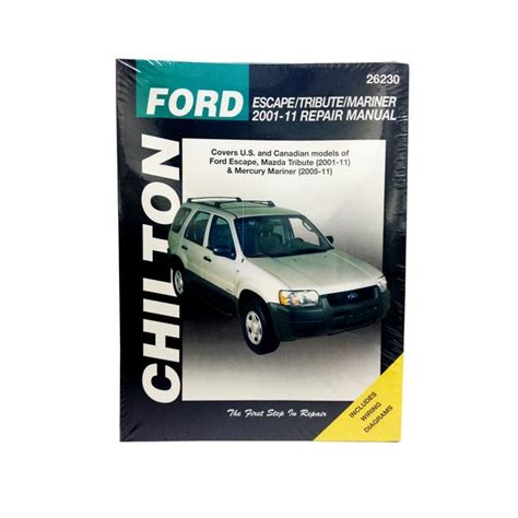 auto repair manual online 2001 ford econoline e250 on board diagnostic system chilton 26230 repair manual 2001 11 ford escape mazda tribute northern auto parts