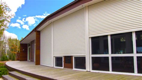 residential security shutters protector window door