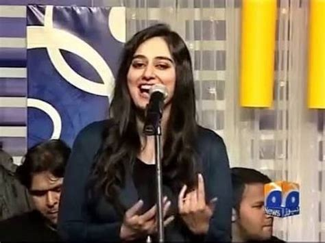 ayesha beautiful host of khabarnaak 2 july 2016 youtube