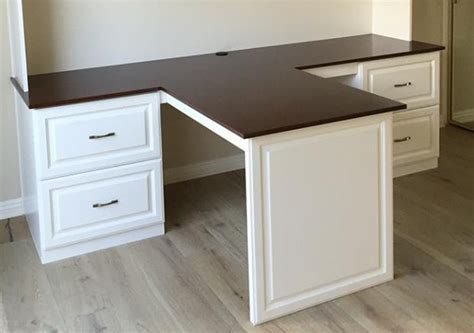 Kitchen Cabinets Anaheim Ca by Custom Desk With Cherry Countertop Esoteric Woodcraft