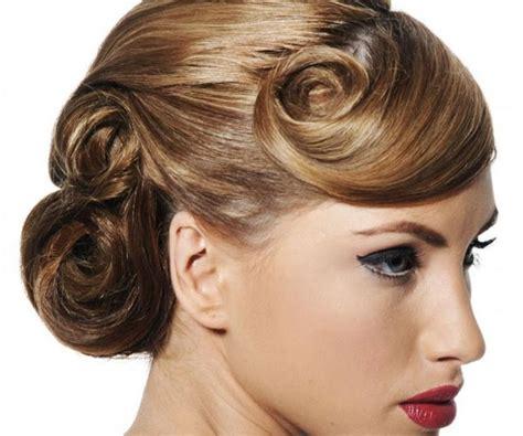Fancy Bun Hairstyles by Fancy Bun Wedding Hairstyle Medium Hair Styles Ideas 12545