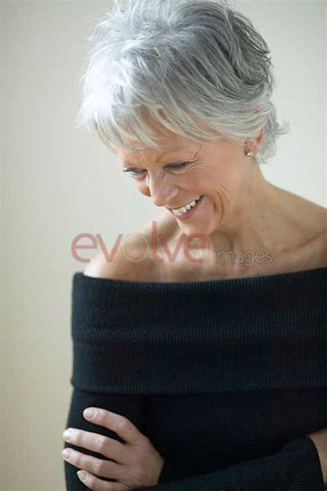pictures of hair grey 60 short haircuts over 60