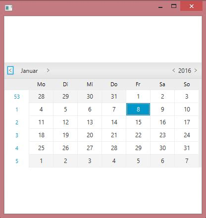 javafx layout root java javafx extract calendar popup from datepicker