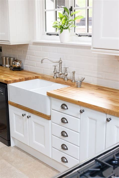 solid wood kitchen furniture best 25 belfast sink ideas on butcher block