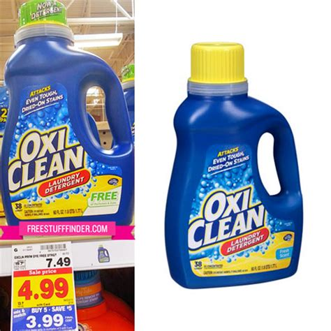 how to use oxiclean in he top load 0 99 reg 8 oxiclean laundry detergent at kroger