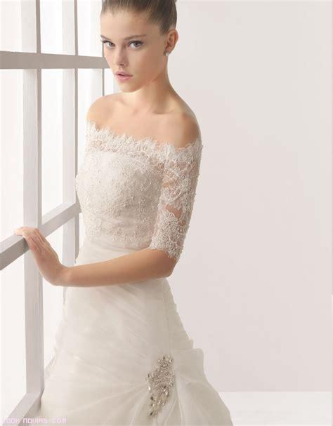 imagenes de vestidos de novia con media manga vestidos de novia con mangas de encaje