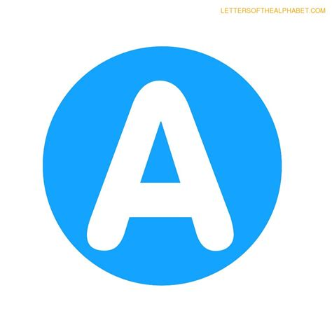printable letters blue circle blue classroom display alphabet letters
