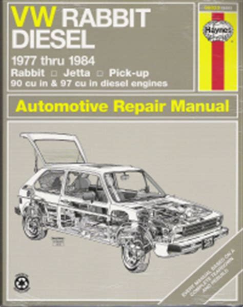 free service manuals online 1986 volkswagen golf engine control 1977 1984 vw rabbit jetta pickup diesel engines haynes repair manual