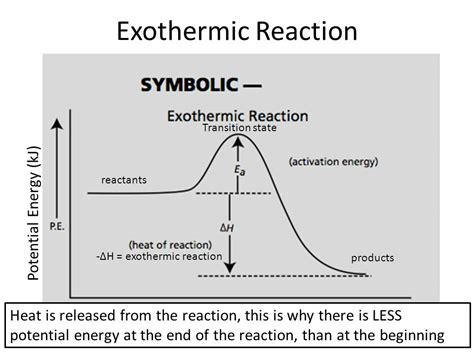 exothermic energy diagram endothermic and exothermic reactions ppt