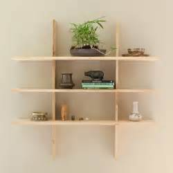 Wall Book Shelves Grid Locking Shelves Contemporary Display And Wall