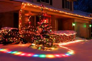 colorful christmas snow lights effects pictures photos