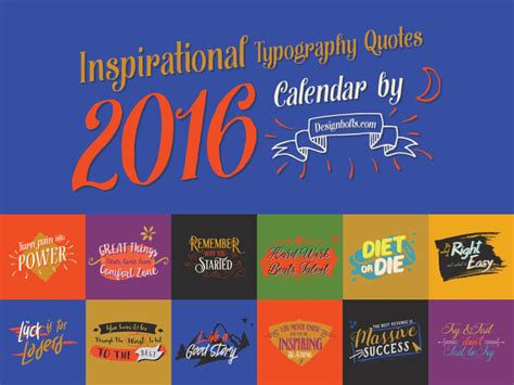 printable quote calendar 2016 inspirational quotes free printable calendar 2016 in ai