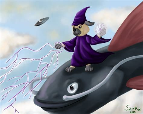 wizard pug wizard pug by szirka on deviantart
