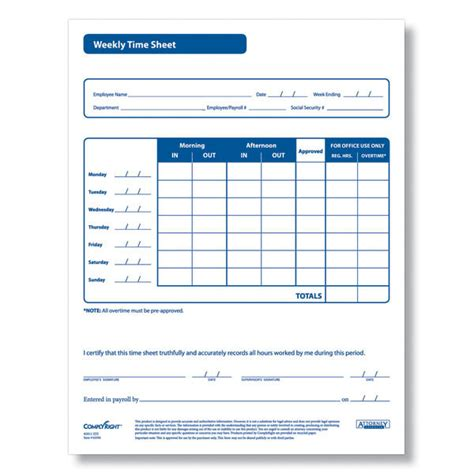 free printable time off sheets 6 best images of printable hourly time sheets time