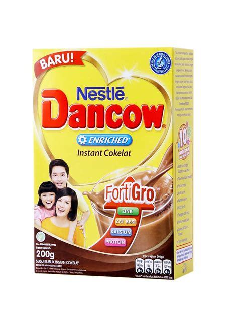 Dancow Coklat Bubuk Dancow Bubuk New Fraq Coklat Box 200g Klikindomaret