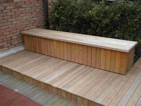 deck bench with storage storage bench pool deck pinterest pools towels and