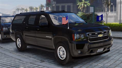 chevrolet suburban chevrolet suburban secret service add on wipers gta5