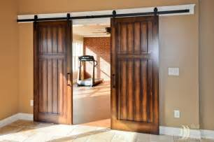 Interior Barn Doors For Homes by Interior Sliding Doors On Rails Myideasbedroom