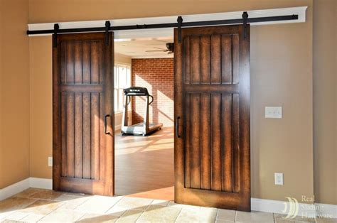 barn doors in house interior sliding doors on rails myideasbedroom com
